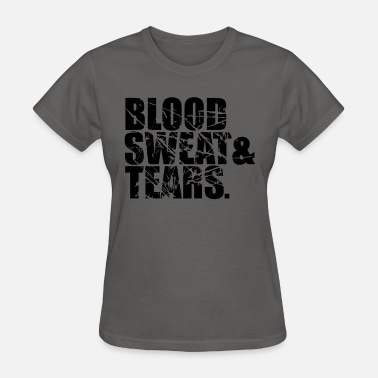 Crying Blood scratch tears sweat blood blood cry tears beam blo - Women's T-Shirt