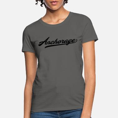 Zip Code Anchorage Städte T-Shirt - Women's T-Shirt