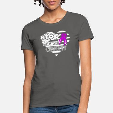 5d9f4b02f830 Animal Cruelty Awareness Animal Cruelty Awareness Shirt - Women's ...
