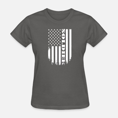 Usa Soldier Proud Soldier of America - USA SOLDIER TEE - Women's T-Shirt
