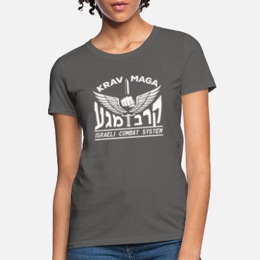 KRAV MAGA KOUF Ladies T-Shirt IDF Combat Systema Self Defense Street Fighting