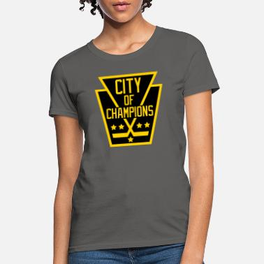 City Of Champions City of Champions - Black and Gold - Women's T-Shirt