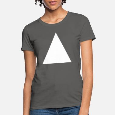 White Triangle - Women's T-Shirt