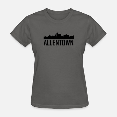 Allentown Pa Allentown Pennsylvania City Skyline - Women's T-Shirt