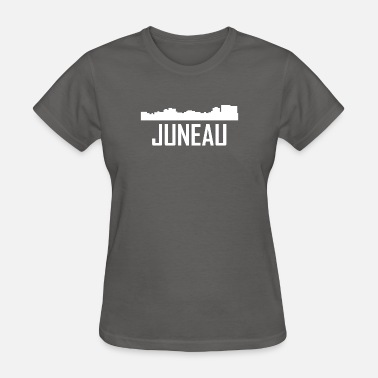 Juneau Ak Juneau Alaska City Skyline - Women's T-Shirt