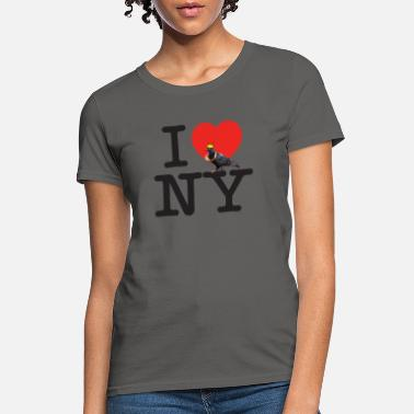 Apple Crown i pigeon ny crown - Women's T-Shirt
