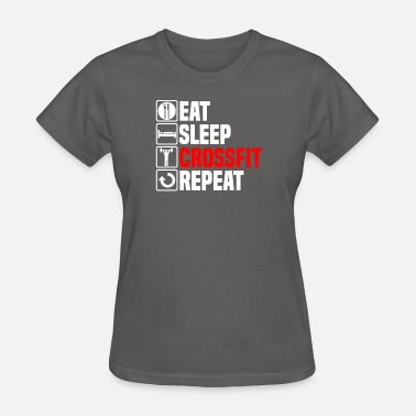 Shit Cross Eat Sleep Cross Fit - Women's T-Shirt