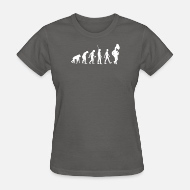 Tuba Love Funny Evolution of Tuba Funny Tuba T-Shirt - Women's T-Shirt