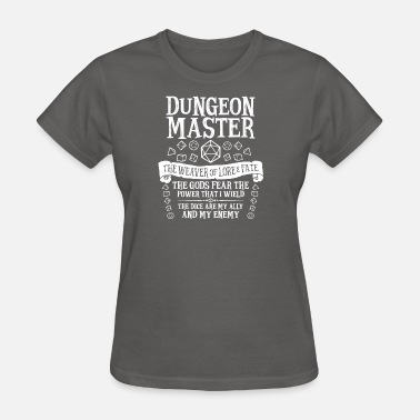 Role Dungeon Master, The Weaver of Lore & Fate - Women's T-Shirt