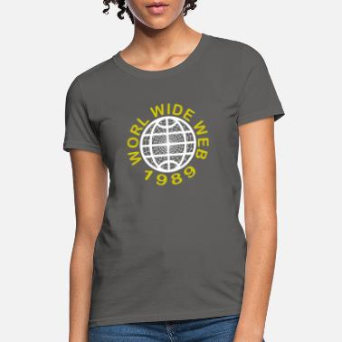 World Wide Web World Wide Web 1989 - Women's T-Shirt