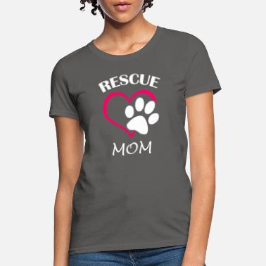 Rescue Rescue mom - Women's T-Shirt