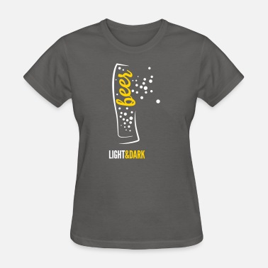 Wheat Beer Wheat glass with beer - Women's T-Shirt