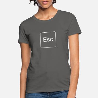 Escape Escape Key (White) - Women's T-Shirt