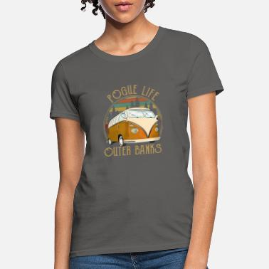 Banks Pogue Life - OUTER BANKS Netflix Show Retro - Women's T-Shirt