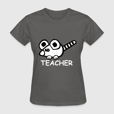 Teacher Mouse Shirt School Funny Cute - Women's T-Shirt