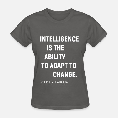 Intelligent intelligence - Women's T-Shirt