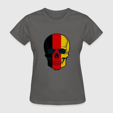 Graphic Skull Graphics Flag Skull - Women's T-Shirt