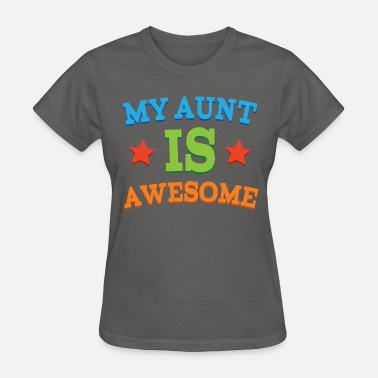 Gift From Aunt Aunt Gift Awesome Aunt - Women's T-Shirt