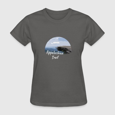Appalachian Trail at McAfee Knob - Women's T-Shirt