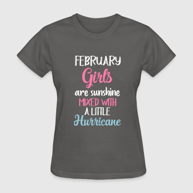 February girls are sunshine  - Women's T-Shirt