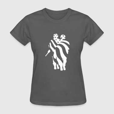 American Flag Soldier - Women's T-Shirt