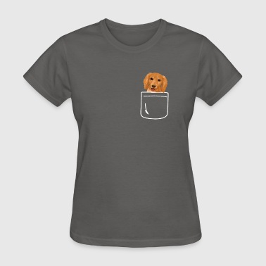 Dachshund In Your Front Pocket Doxie Lover - Women's T-Shirt