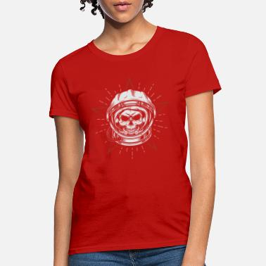 Head Space Space Astronaut Skull Head - Women's T-Shirt
