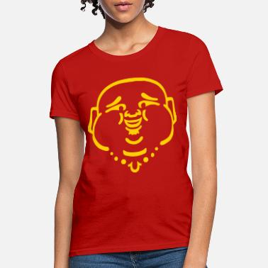Budai Laughing Buddha - Women's T-Shirt