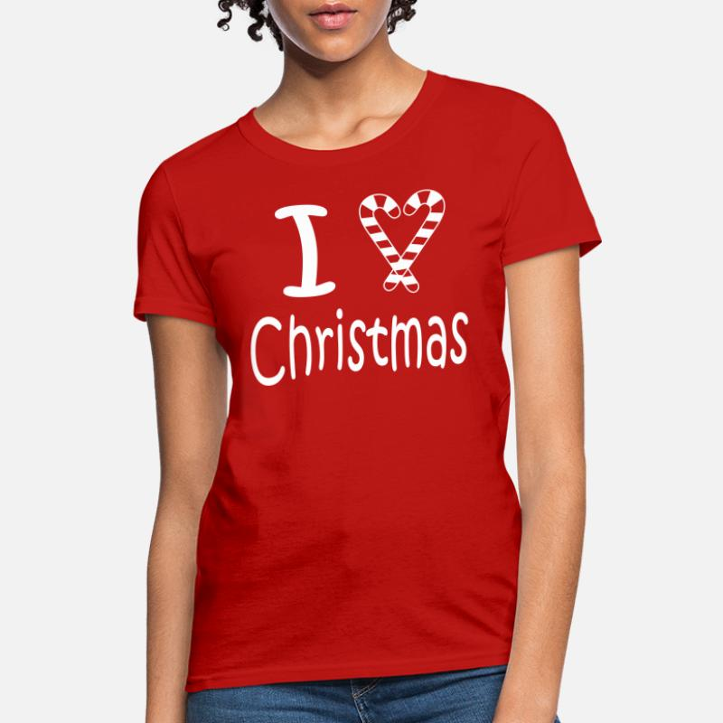 Iheart Christmas.Shop I Heart Christmas T Shirts Online Spreadshirt