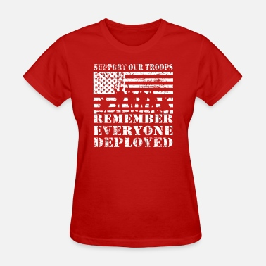 Afghanistan Syria Red Friday Wear Red On Friday - Women's T-Shirt