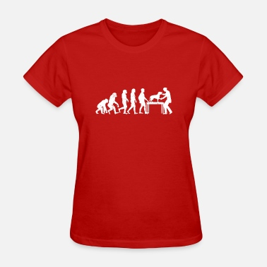 Veterinarian Funny Funny Evolution Veterinarian Doctor Design - Women's T-Shirt