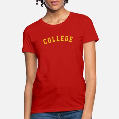 Block College Block Letter - Women's T-Shirt