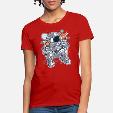 Astronaut Ice Cream - Women's T-Shirt