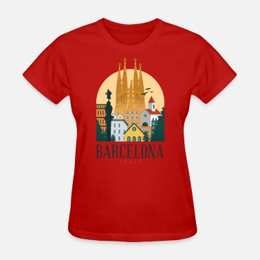 Familia Barcelona Spain - Women's T-Shirt
