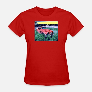 Car Art Car Art Design Concept - Women's T-Shirt