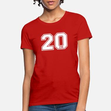 Jock 20 centimeter - Women's T-Shirt