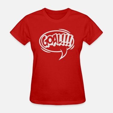 Goal Posts goal - Women's T-Shirt