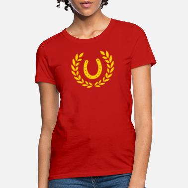 Horseshoe Horseshoes - Women's T-Shirt