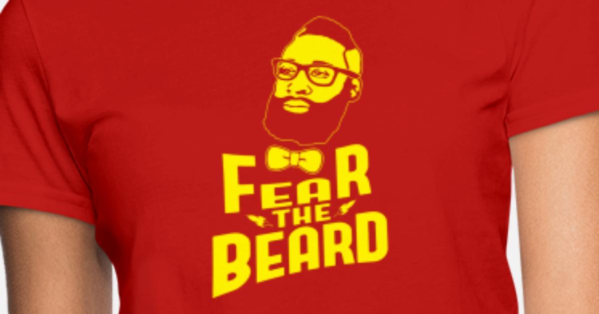 41e331527d6a JAMES HARDEN FEAR THE BEARD Women s T-Shirt