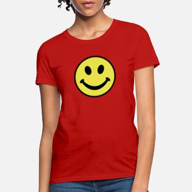 Happy Happy Face - Women's T-Shirt