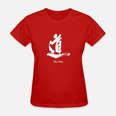 Daoism The Dao (white) - Women's T-Shirt