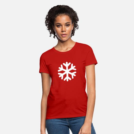 Snow T-Shirts - Snow - Women's T-Shirt red
