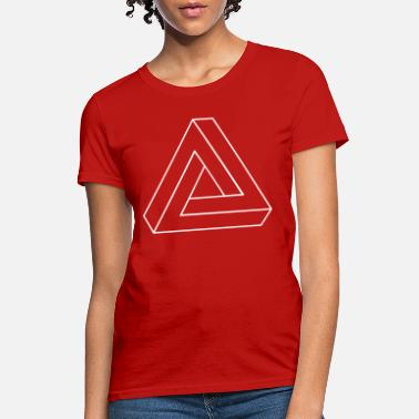 Triangle Impossible Triangle 3D - Women's T-Shirt