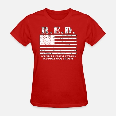 Wear Red On Friday Red Friday Wear Red On Friday - Women's T-Shirt