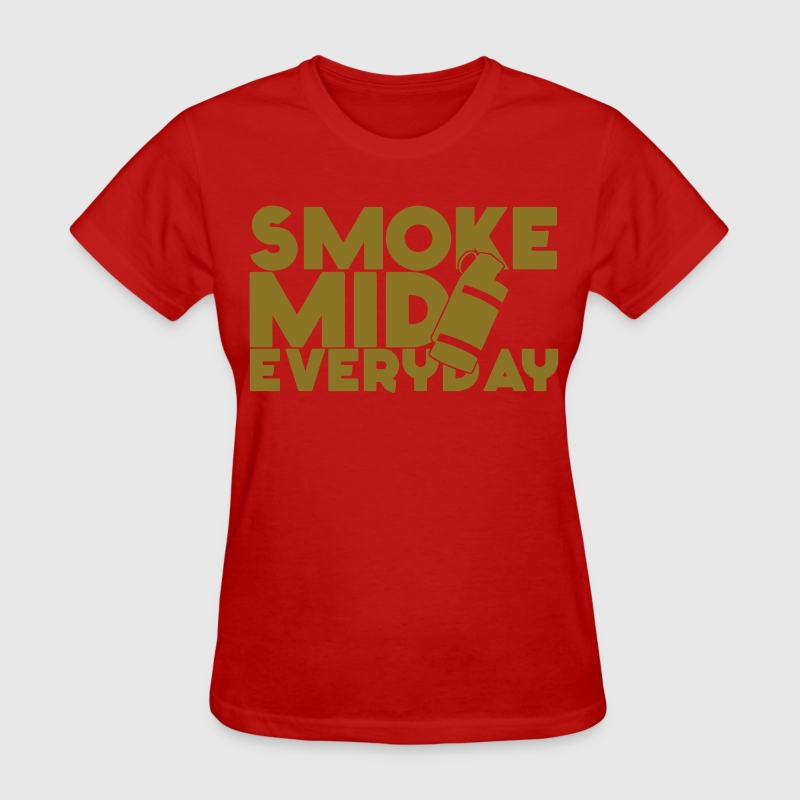 Smoke Mid Everyday CSGO LimitedEdition Gold Hoodie - Women's T-Shirt