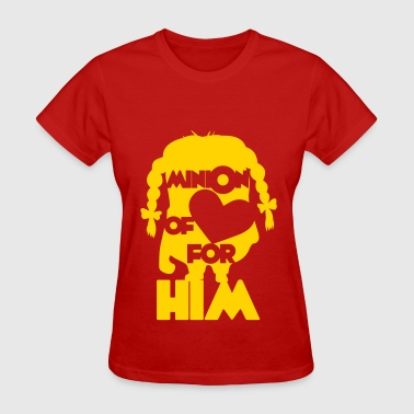 minion of love (girls) - Women's T-Shirt
