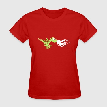 Fire Dragon - Women's T-Shirt