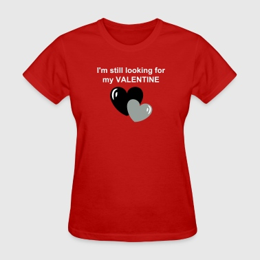 Valentine Hearts - Women's T-Shirt