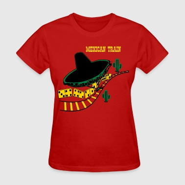 Mexican Train 2 - Women's T-Shirt