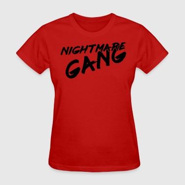 Nightmare Gang - Black - Women's T-Shirt